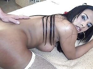 Gorgeous Shemale Fucked