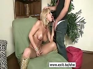Blonde she Isabella thoroughly anal stuffed